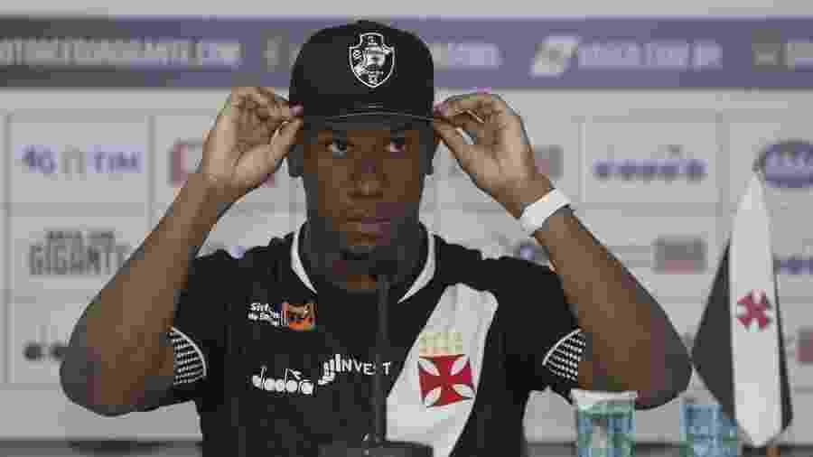 Atacante Ribamar ganhou nova chance no Vasco com o técnico Vanderlei Luxemburgo - Rafael Ribeiro / Vasco