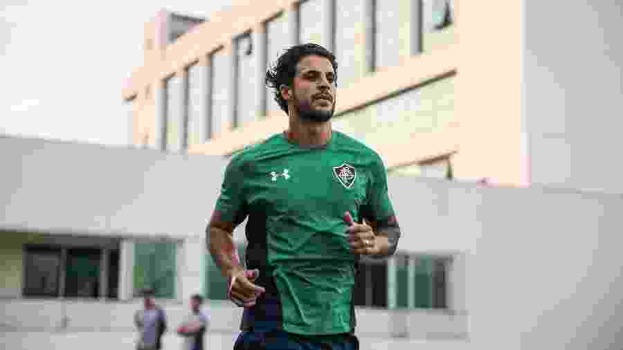 Hudson é um dos novos reforços do Fluminense no mercado da bola - Lucas Merçon/Fluminense FC