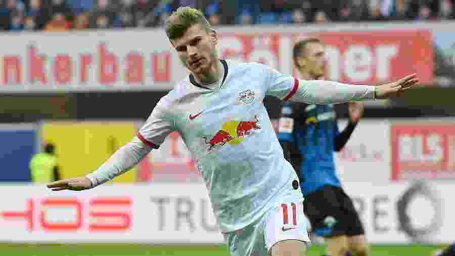 Timo Werner, do RB Leipzig, está no radar de gigantes europeus - Ulrich Hufnagel/Xinhua