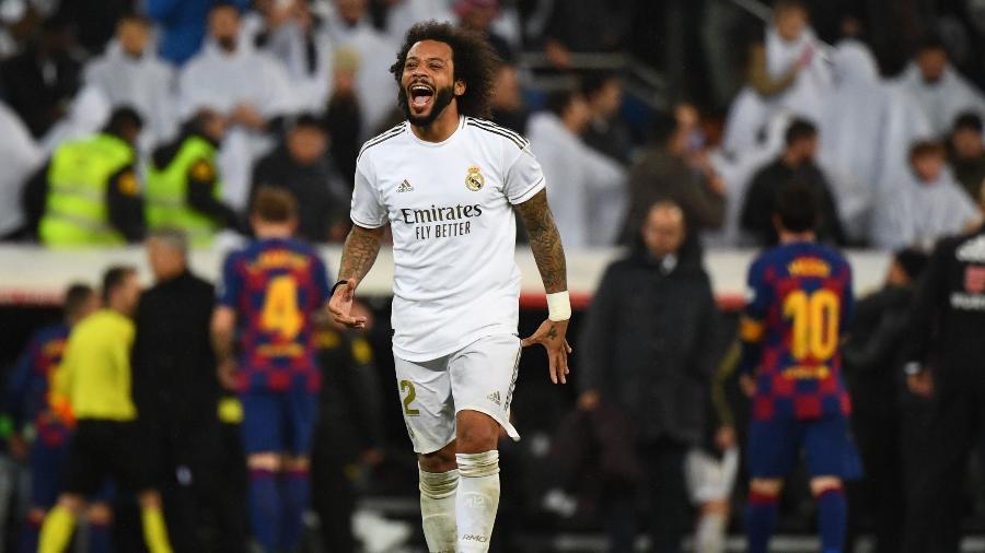 Marcelo não deve permanecer no Real Madrid para a próxima temporada - GABRIEL BOUYS/AFP