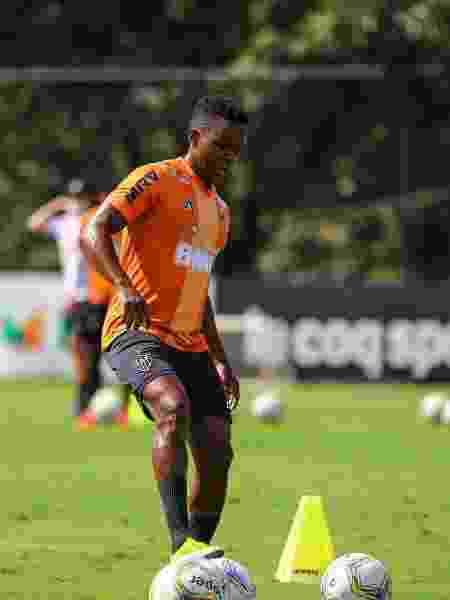 Juan Cazares, meia-atacante do Atlético-MG - Pedro Souza / Atlético-MG / Divulgação