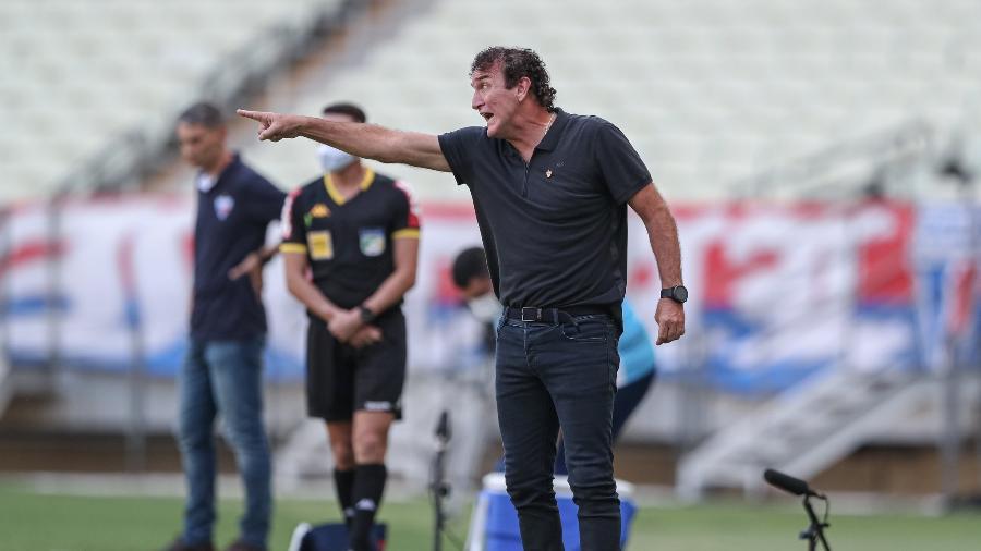 Cuca exalta sua equipe e explica motivo de o Galo ser mais forte no segundo tempo das partidas - Pedro Souza/Atlético-MG