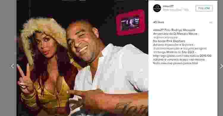 Adriano ao lado de Ariany - Reprodução/Instagram - Reprodução/Instagram