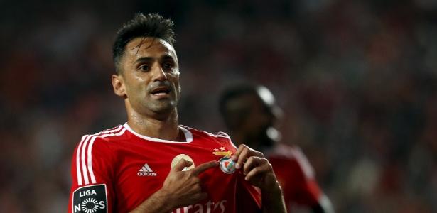 Atacante do Benfica é o artilheiro do futebol europeu na atual temporada - Hugo Correia/Reuters