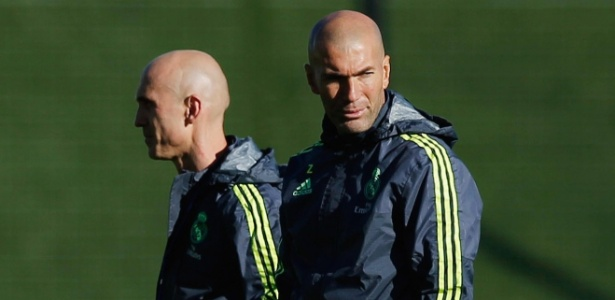 Zidane e o amigo Bettoni: os carecas que mandam no Real