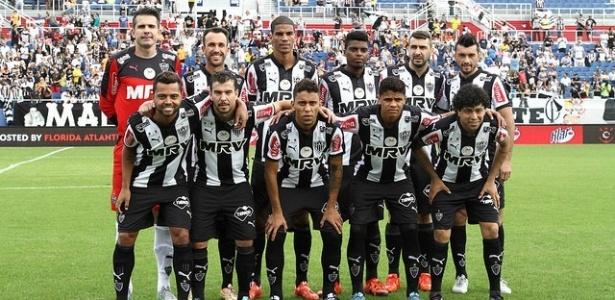 Jogadores do Atlético-MG em partida pela Florida Cup em 2016, vencida pelo clube mineiro