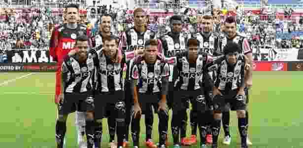 Jogadores do Atlético-MG em partida pela Florida Cup em 2016, vencida pelo clube mineiro - Bruno Cantini/Atlético-MG