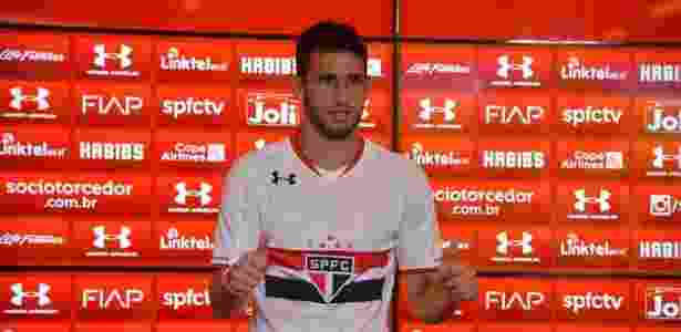 Jonathan Calleri é apresentado como reforço do São Paulo - Érico Leonan/saopaulofc;net - Érico Leonan/saopaulofc;net