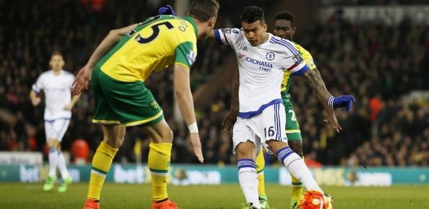 Kenedy marcou dois gols com a camisa do Chelsea