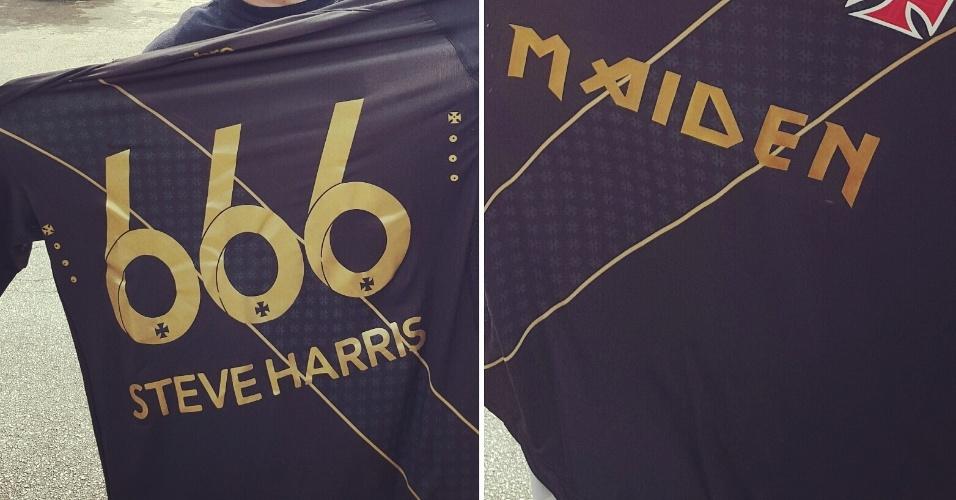 Camisa do Vasco personalizada para Steve Harris