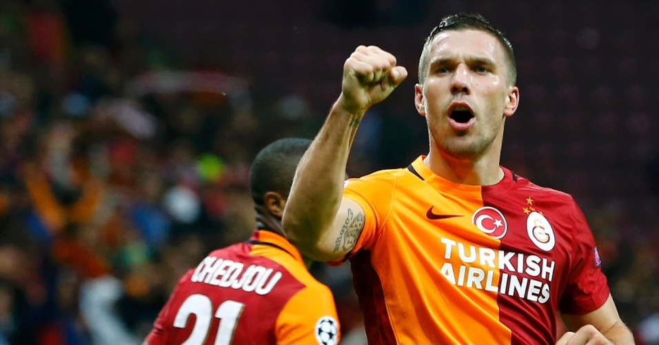 Lukas Podolski, atacante do Galatasaray