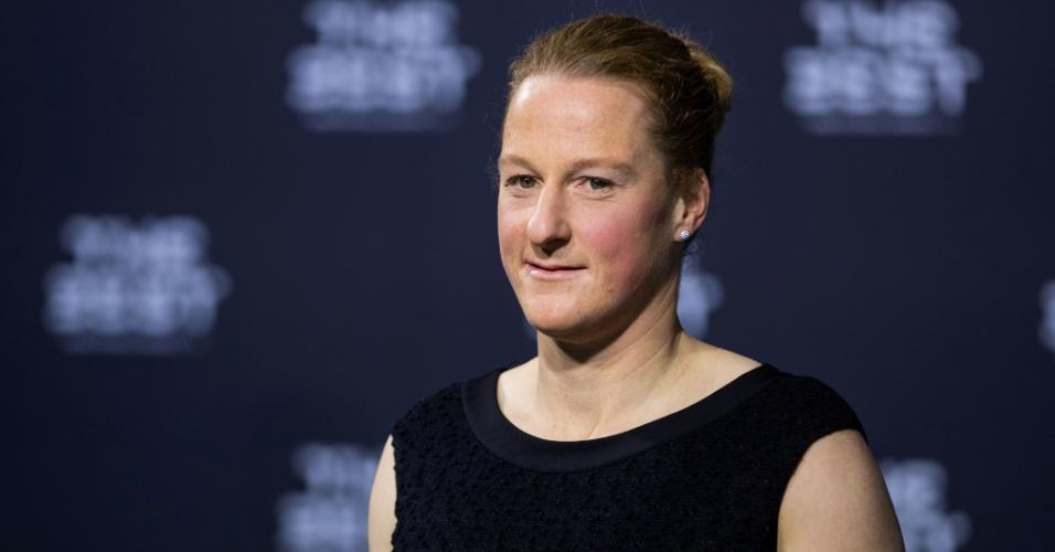 Melanie Behringer conquistou pela primeira vez o prêmio dado pela Fifa
