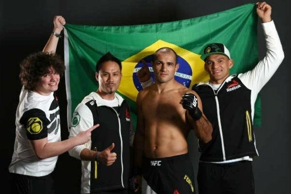 Agfight - Marcel Fortuna foi um dos premiados por sua performance no UFC Fight Night 104