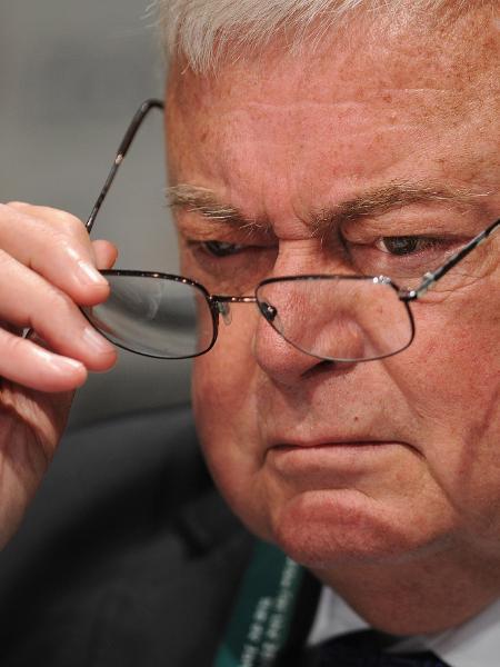 O  ex-presidente da CBF Ricardo Teixeira em imagem de julho de 2011 - Michael Regan/Getty Images