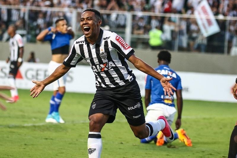 Elias foi o autor do gol do título do Atlético-MG sobre o Cruzeiro, no Mineiro