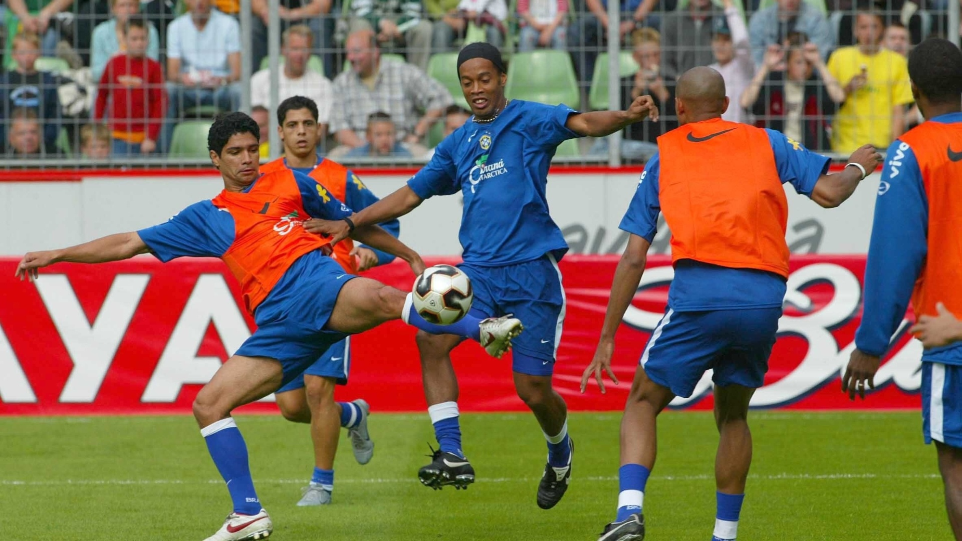 Renato durante a Copa das Confederações de 2005
