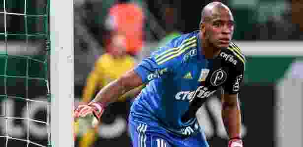 Jailson em ação em Palmeiras x Botafogo - Ale Cabral/AGIF