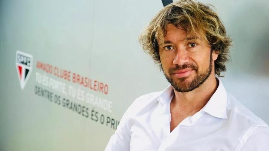 Diego Lugano é dirigente do São Paulo - saopaulofc.net