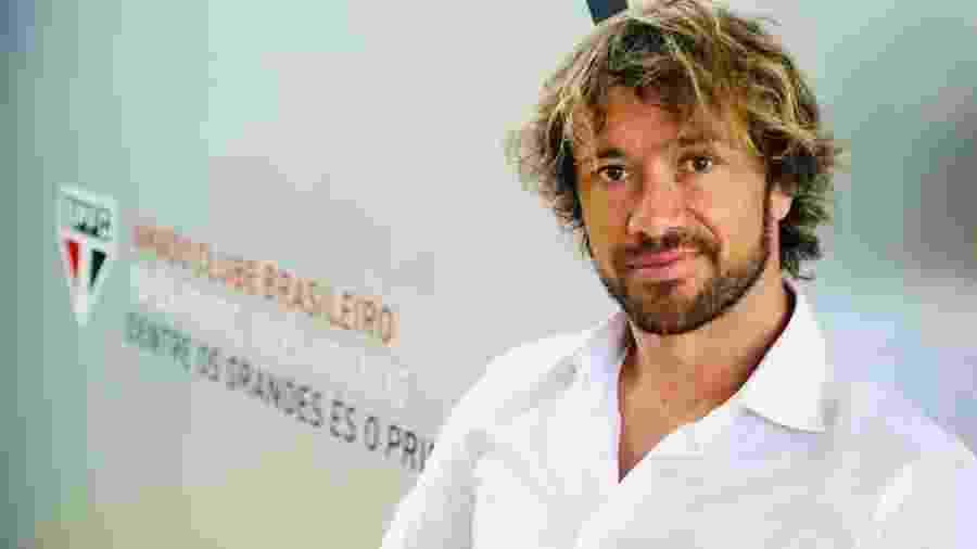 Diego Lugano é hoje dirigente do São Paulo - saopaulofc.net
