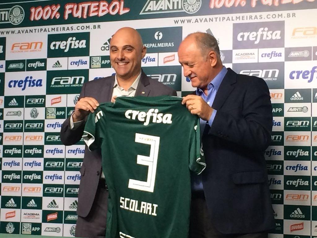 Felipão revê Palmeiras em novo patamar f2a80e26abd51