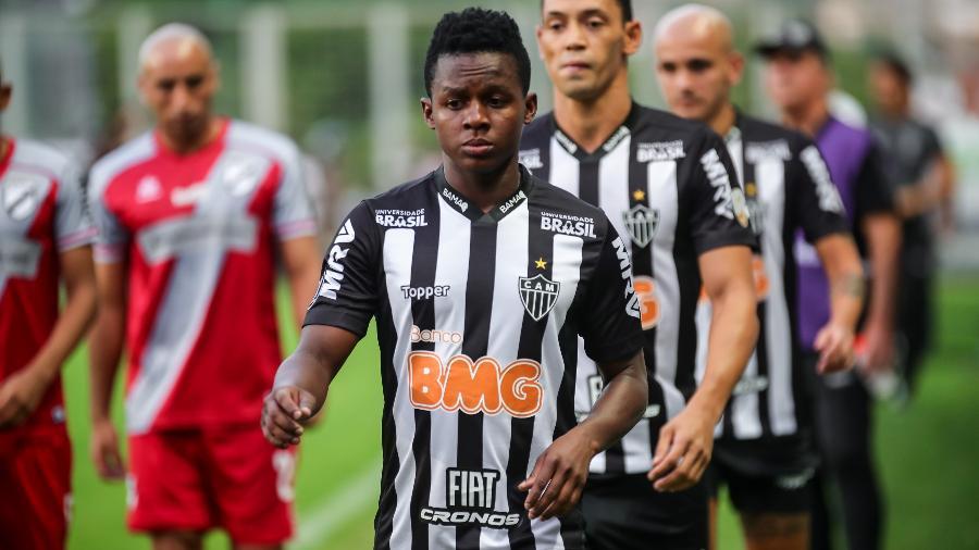 Juan Cazares, meia do Atlético-MG, tem se destacado no início de 2019 - Bruno Cantini/Atlético-MG