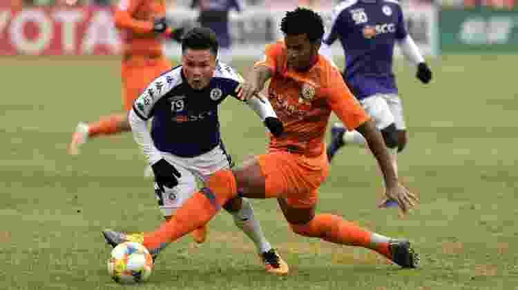 Desde 2016 no Shandong Luneng, Gil já atuou em 113 partidas pela equipe chinesa  - Wang Kai/Xinhua - Wang Kai/Xinhua