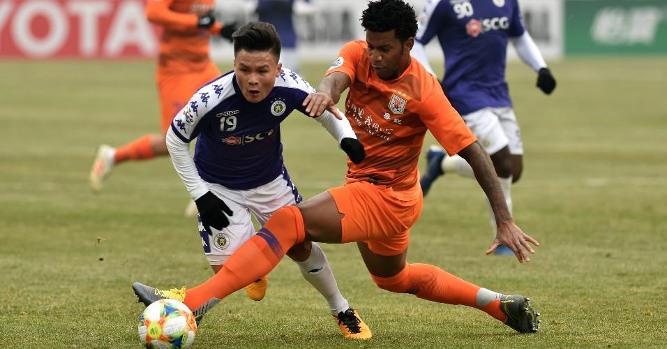 Desde 2016 no Shandong Luneng, Gil já atuou em 113 partidas pela equipe chinesa
