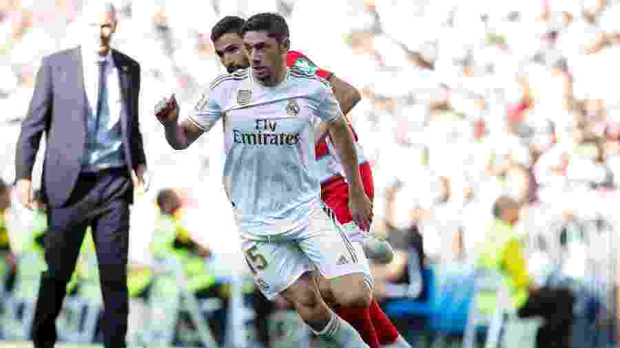 Federico Valverde, meia do Real Madrid - David S. Bustamante/Soccrates/Getty Images