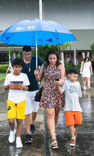 Família de Thiago Silva
