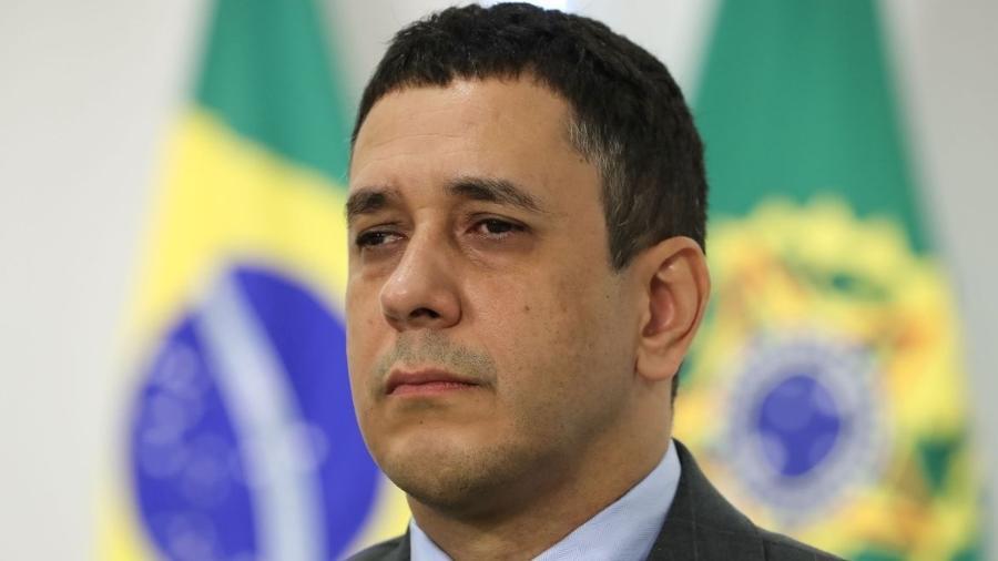Novo secretário de Justiça, Claudio Panoeiro, foi nadador - Marcos Corrêa/PR