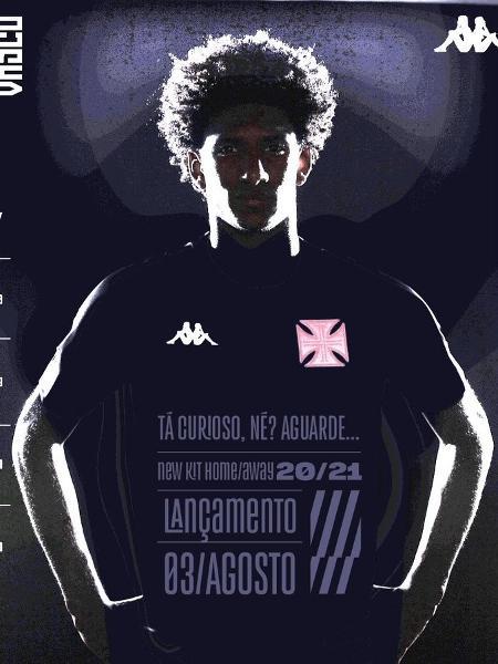Vasco marca lançamento dos novos uniformes para 3 de agosto - Reprodução