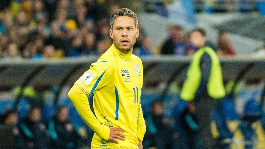 Meia-atacante Marlos nasceu no Paraná, mas joga pela seleção da Ucrânia - Divulgação