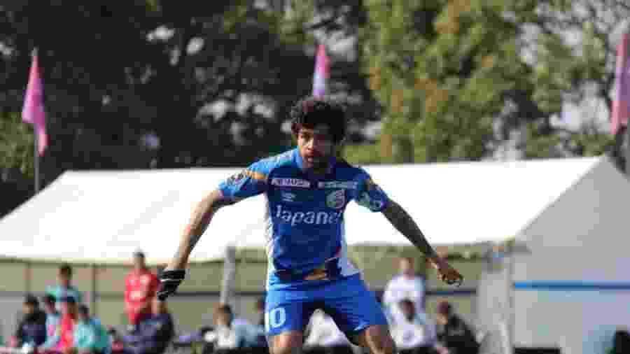 Luan, ex-Atlético-MG, é uma das atrações da segunda divisão japonesa - Divulgação
