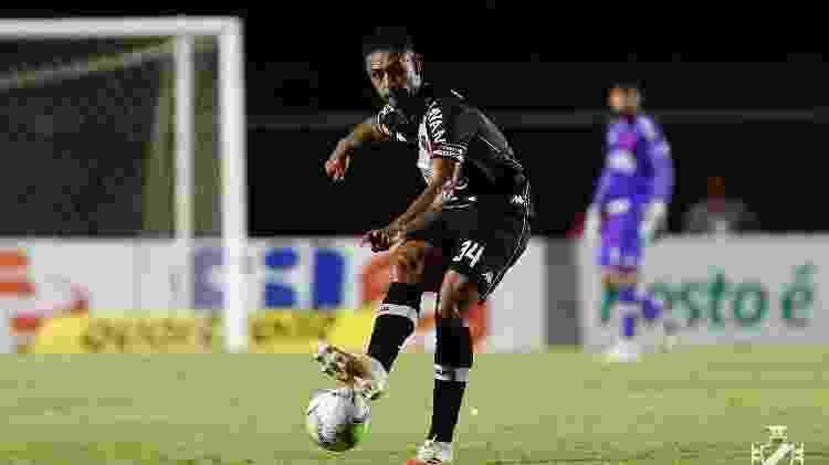 Zagueiro Werley foi titular nos dois primeiros jogos de Luxemburgo e Vasco não foi vazado - Rafael Ribeiro / Vasco - Rafael Ribeiro / Vasco
