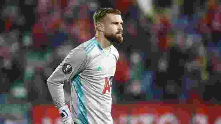 Gustavo Busatto participa de jogo do CSKA Sofia pela Liga Europa  - Divulgação - Divulgação