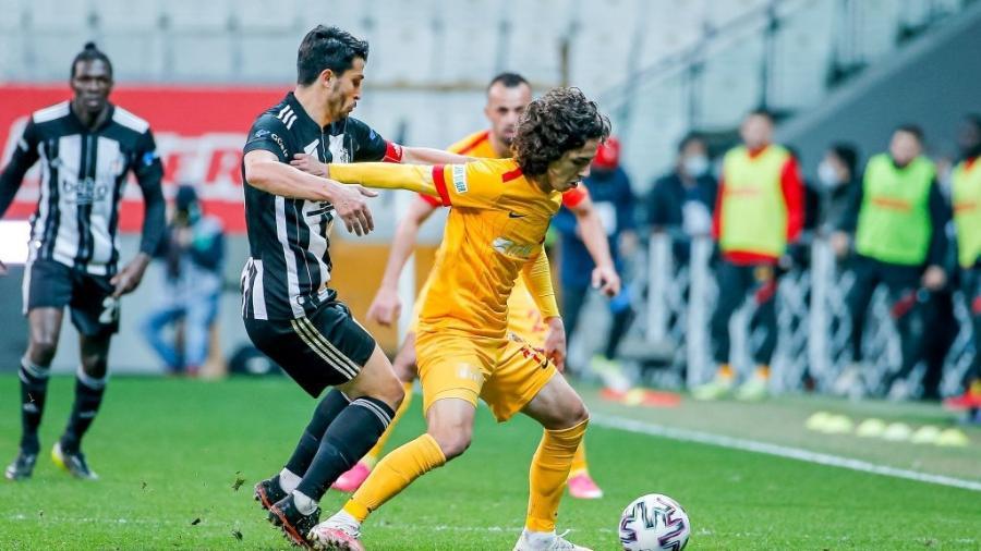 Emre Demir, de 17 anos. O meia-atacante turco, que pertencia ao Kayserispor, assina com o Barcelona - GettyImages/  BSR Agency / Colaborador