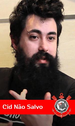 Cid, o dono do blog Não Salvo, tem um canal no Youtube com 320 mil inscritos e chegou a cumprir uma promessa depois que o Corinthians foi campeão da Libertadoes: deixou a barba crescer por um ano