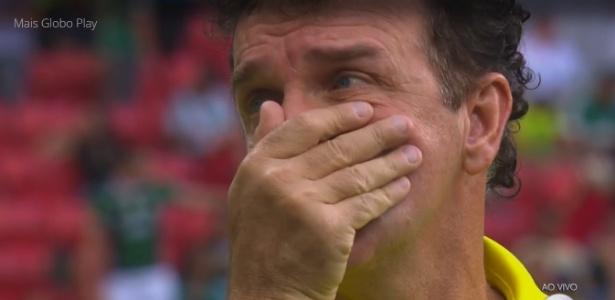 Cuca torce para que a punição não ocorra no jogo contra o Flamengo