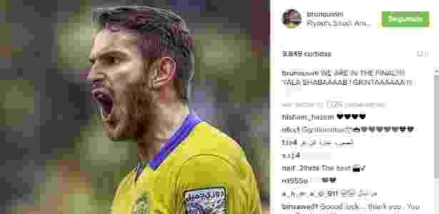 Bruno Uvini - Reprodução/Instagram  - Reprodução/Instagram