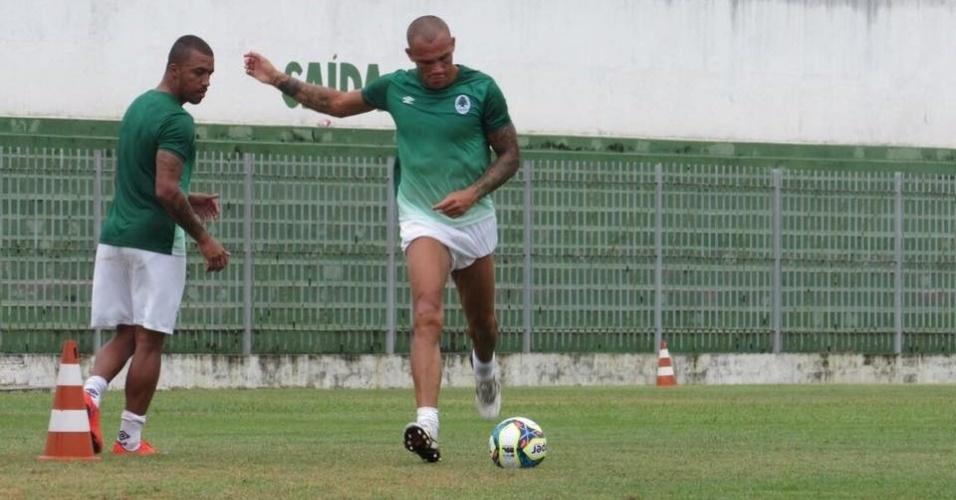 Leandrão, atacante ex-Internacional, Botafogo e Vasco, jogará o Campeonato Carioca pelo Boavista