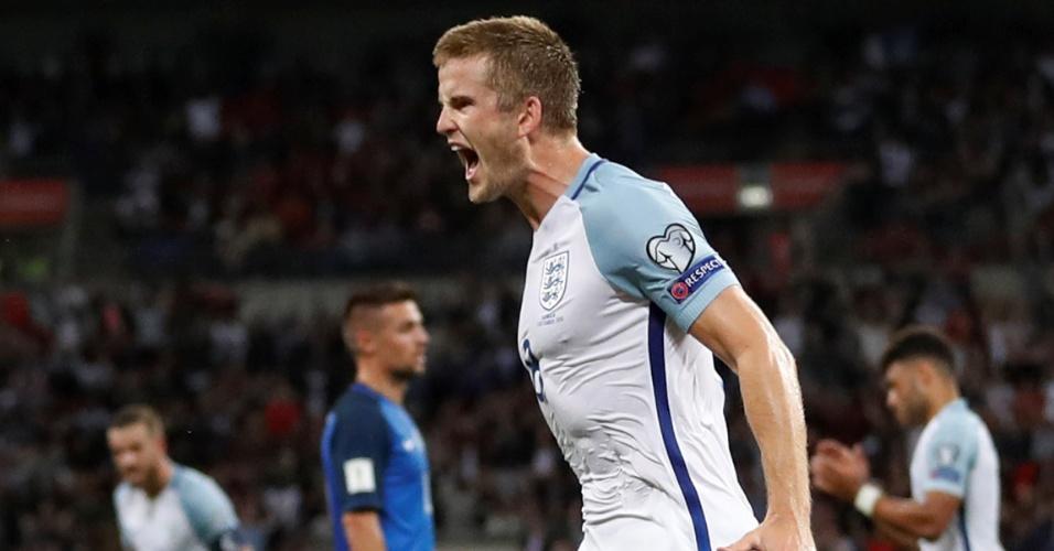 Eric Dier empata o jogo para a Inglaterra
