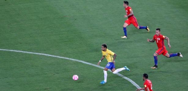 Neymar contra o Chile; Dória mais uma vez contou com parceria de empresário