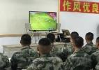China tira 55 jogadores da reta final da temporada para treinamento militar - Reprodução/CCTV
