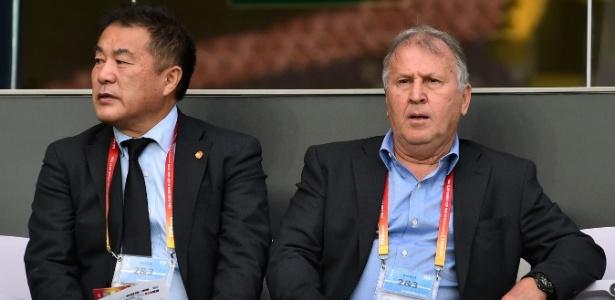 Zico analisou momento do Flamengo - Giuseppe Cacace/AFP