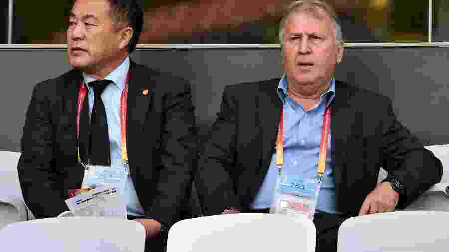Zico, ex-seleção japonesa, hoje é diretor-técnico do Kashima Antlers - Giuseppe Cacace/AFP
