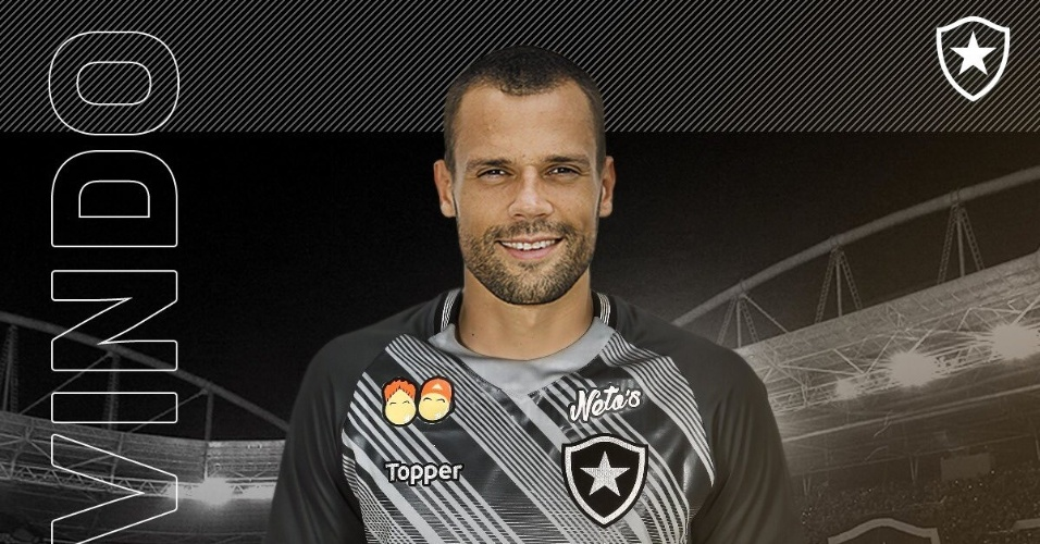Diego Cavalieri foi apresentado como novo goleiro do Botafogo