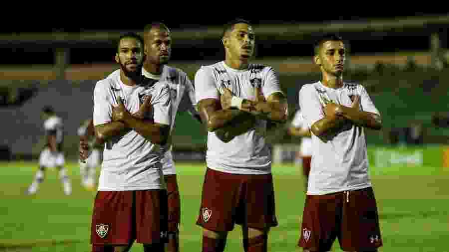 Fluminense teve grande atuação e goleou o River-Pi para avançar na Copa do Brasil - LUCAS MERÇON / FLUMINENSE F.C.
