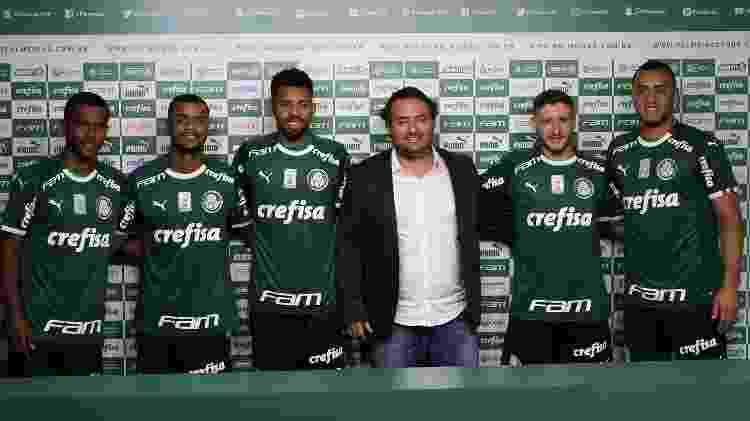 Palmeiras contratou destaques do Brasileirão 2018 e pedidos de Felipão - Cesar Greco/Ag. Palmeiras/Divulgação - Cesar Greco/Ag. Palmeiras/Divulgação