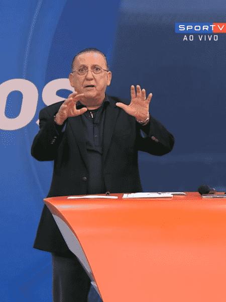 Galvão Bueno critica Ganso - Reprodução/SporTV