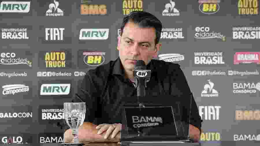 Rui Costa, diretor de futebol do Atlético-MG, fala sobre a situação de Rodrigo Santana - Bruno Cantini/Divulgação/Atlético-MG